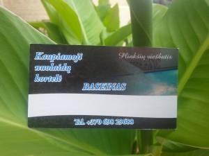 Plinkšių viešbučio kaupiamoji nuolaidų kortelė